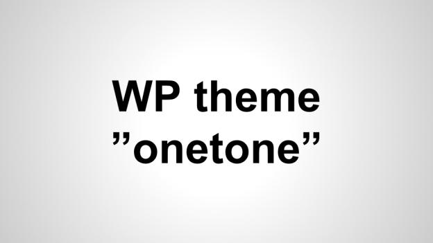 wp_theme_onetone